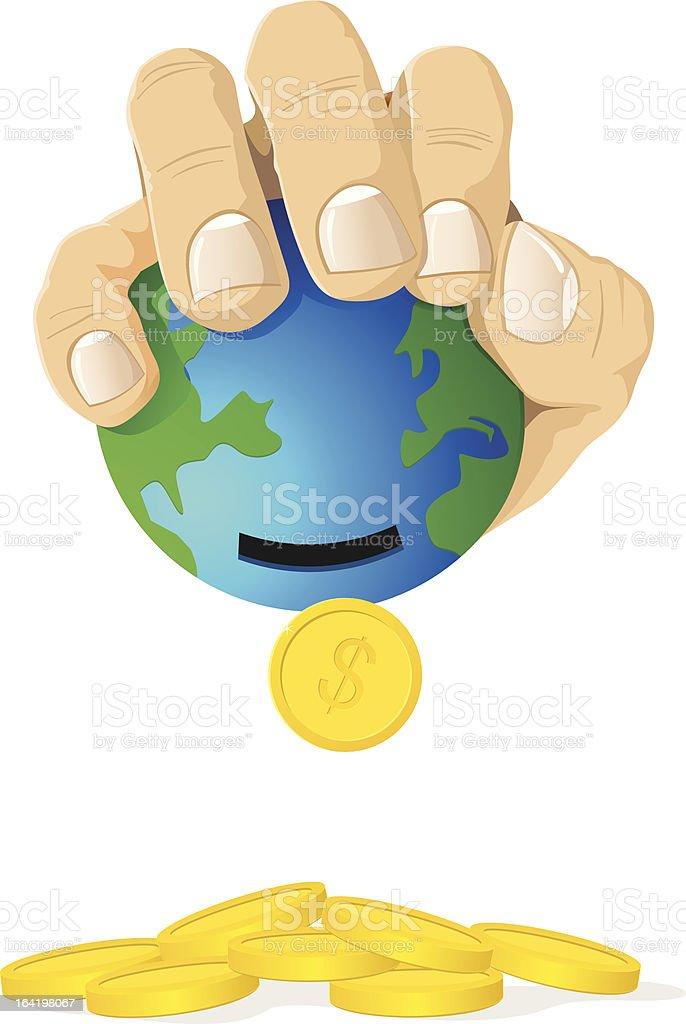 Global Crisis royalty-free stock vector art