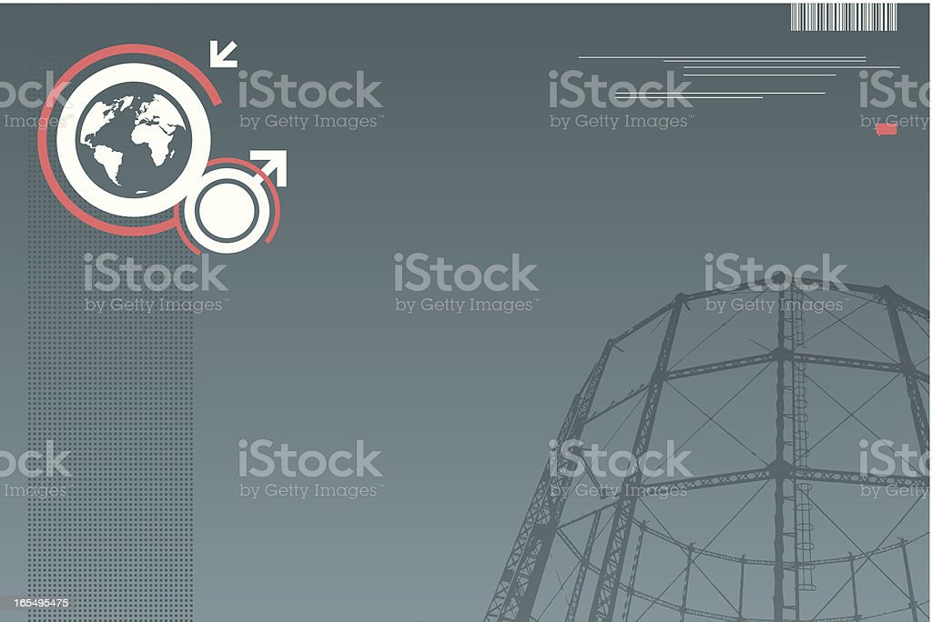 global engineering royalty-free stock vector art