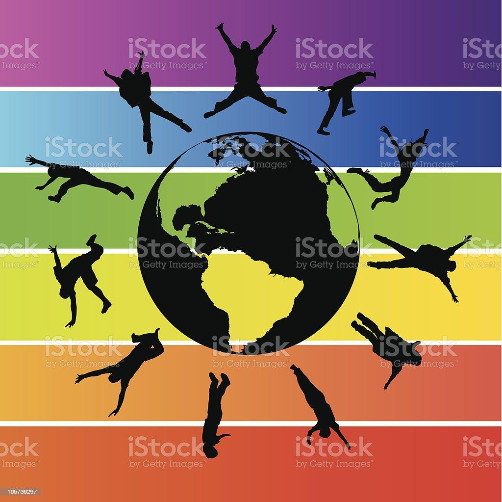 Global Freedom royalty-free stock vector art