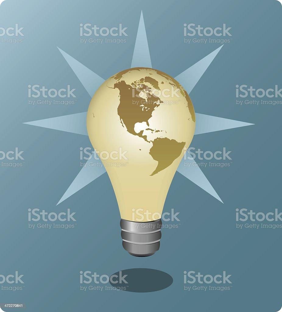 Global Ideas [vector] royalty-free stock vector art