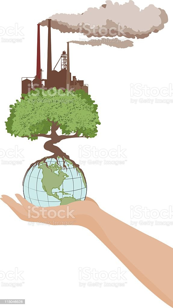 Global Manufacture royalty-free stock vector art