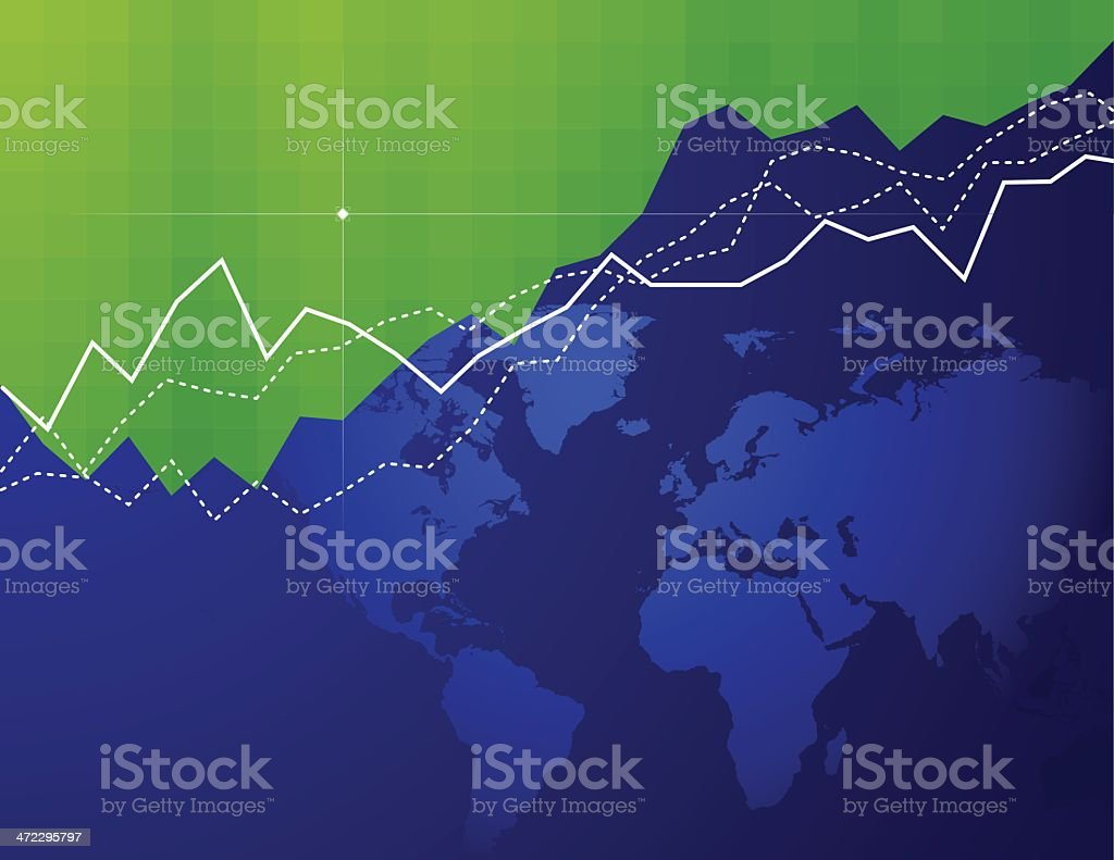 Global Market vector art illustration