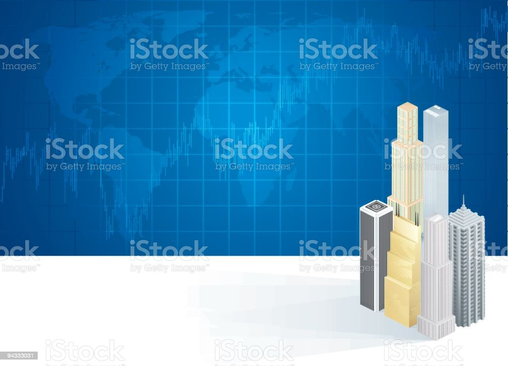 Global Markets royalty-free stock vector art
