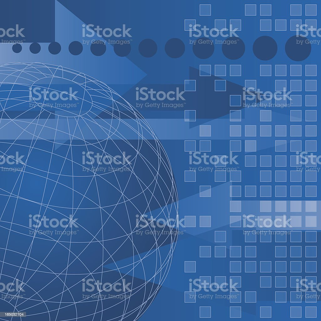 Global Trade (vector) royalty-free stock vector art