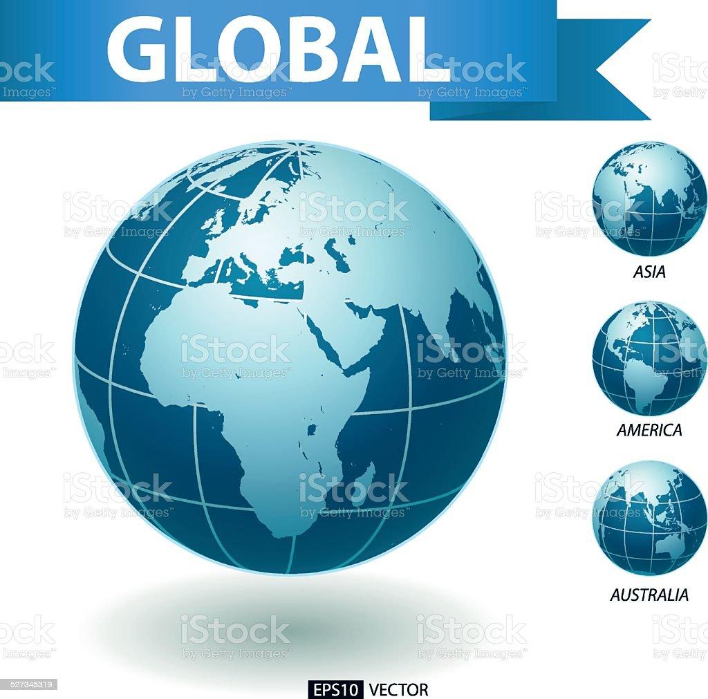 Global royalty-free stock vector art