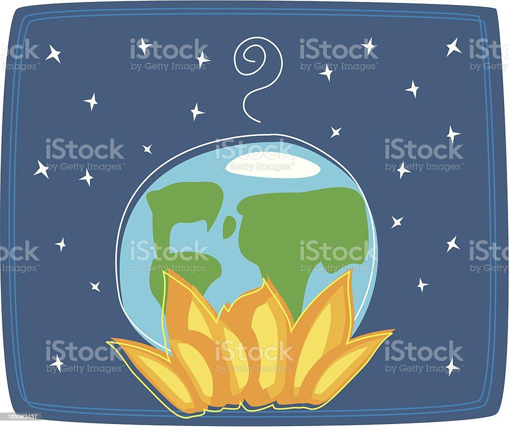 Global Warming royalty-free stock vector art