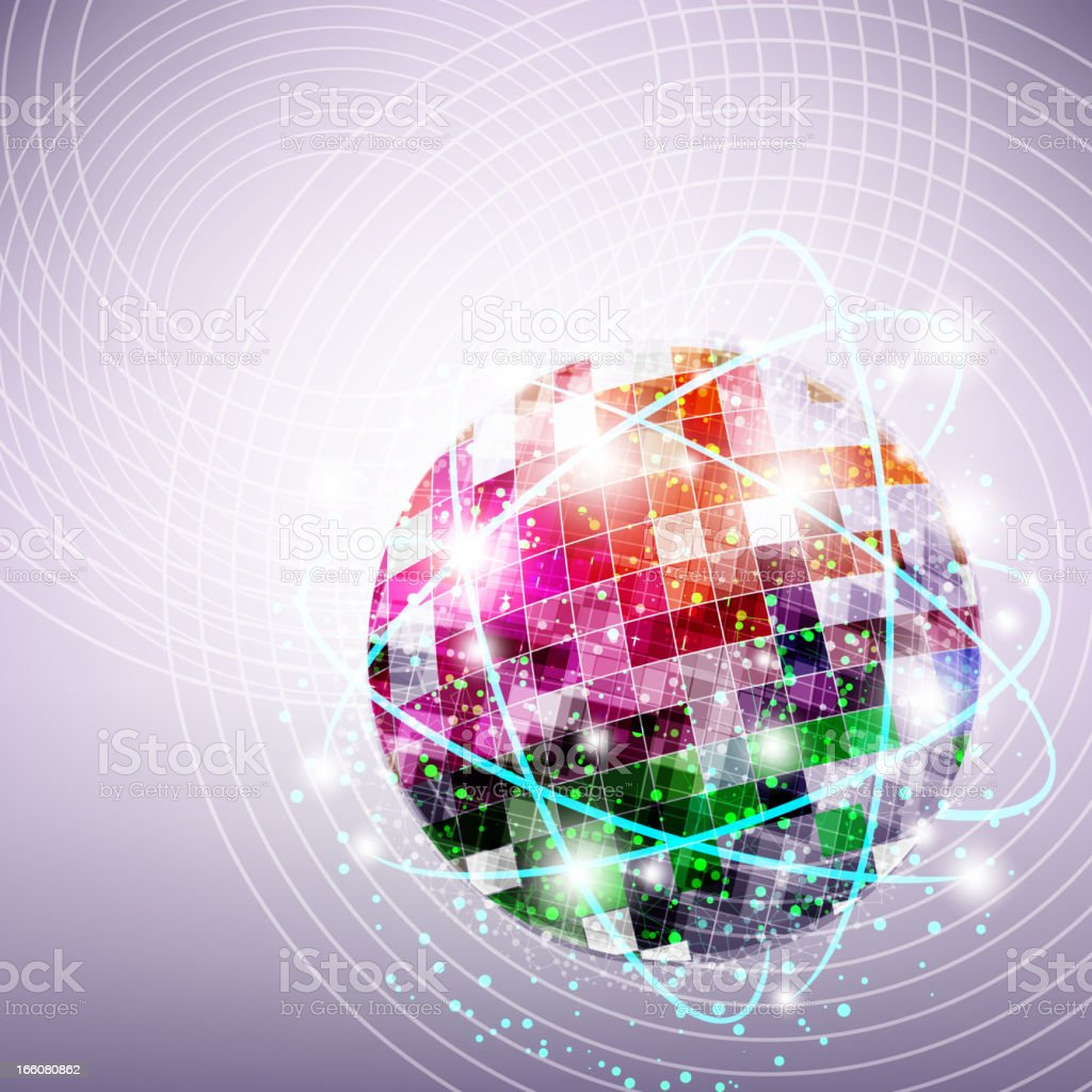 Globe Connectivity royalty-free stock vector art