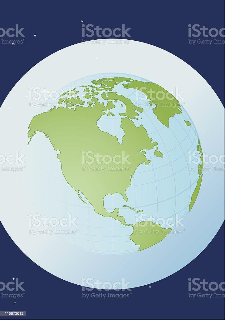 Globe - illustration royalty-free stock vector art