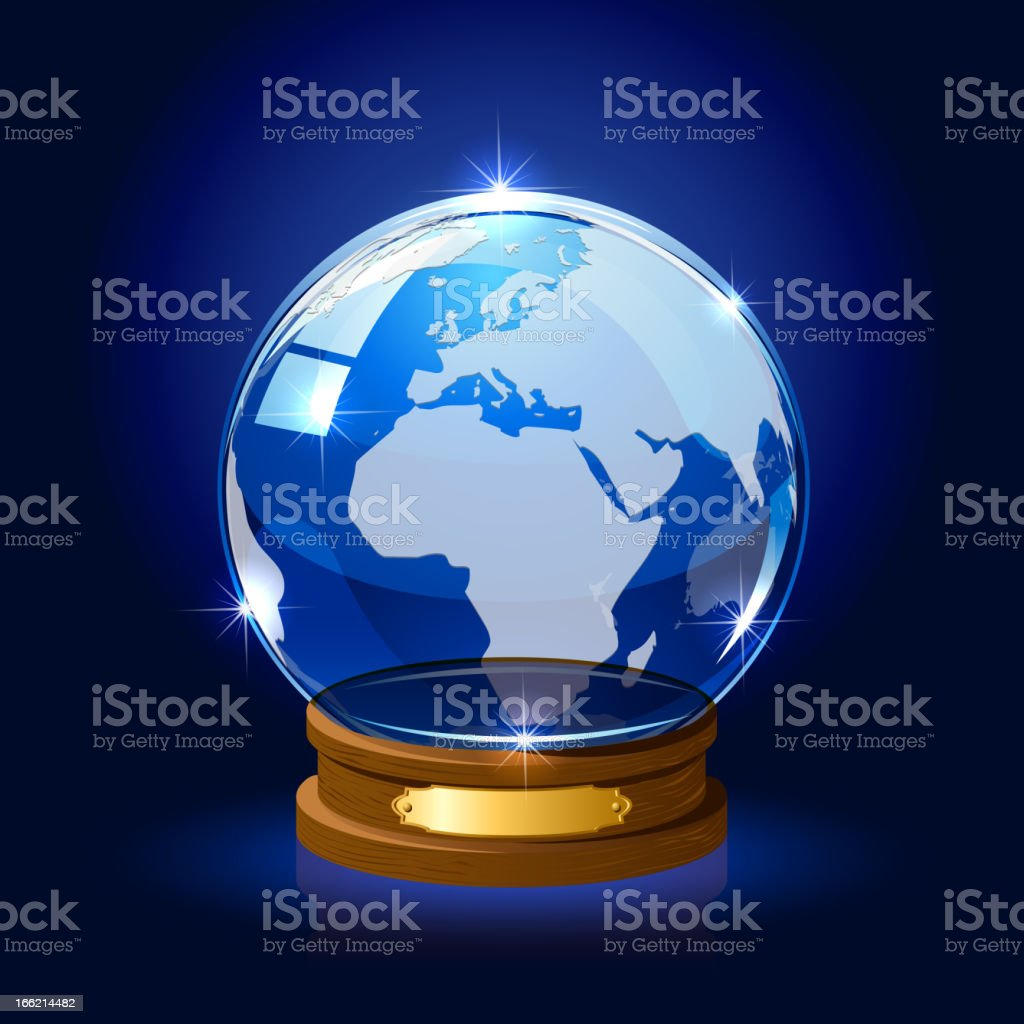 Globe royalty-free stock vector art