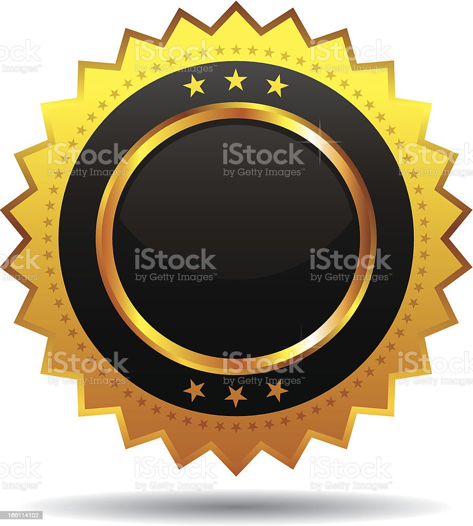 Glossy Icon royalty-free stock vector art