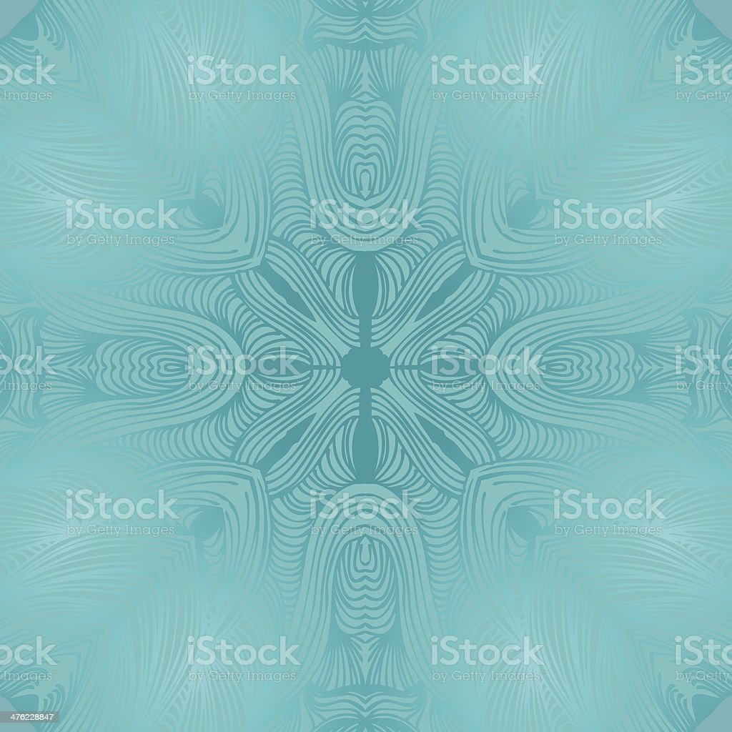 Glossy ornamental round lace pattern royalty-free stock vector art