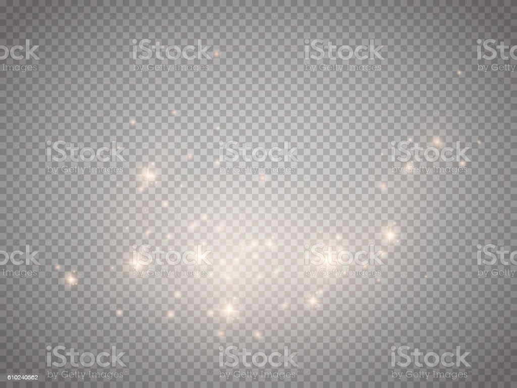 Glow light effect. Vector illustration. Christmas flash Concept. vector art illustration