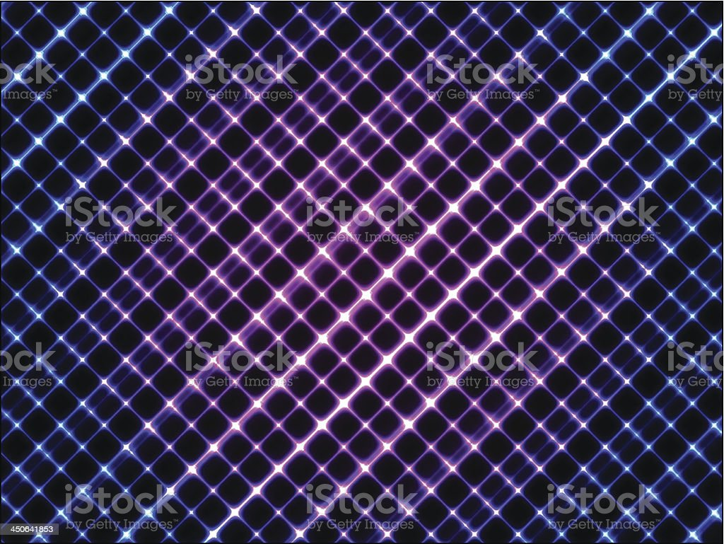 Glowing background with diagonal stripes vector art illustration