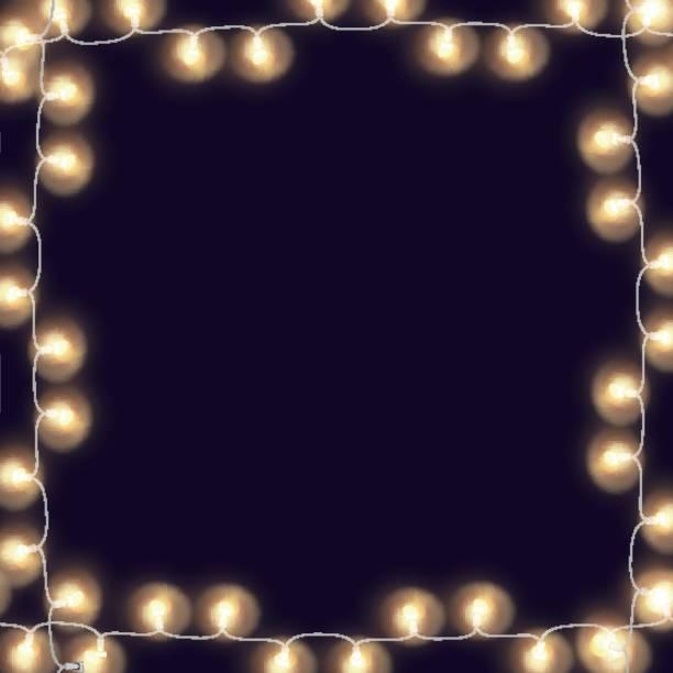 String Of Lights Illustration : String Light Clip Art, Vector Images & Illustrations - iStock
