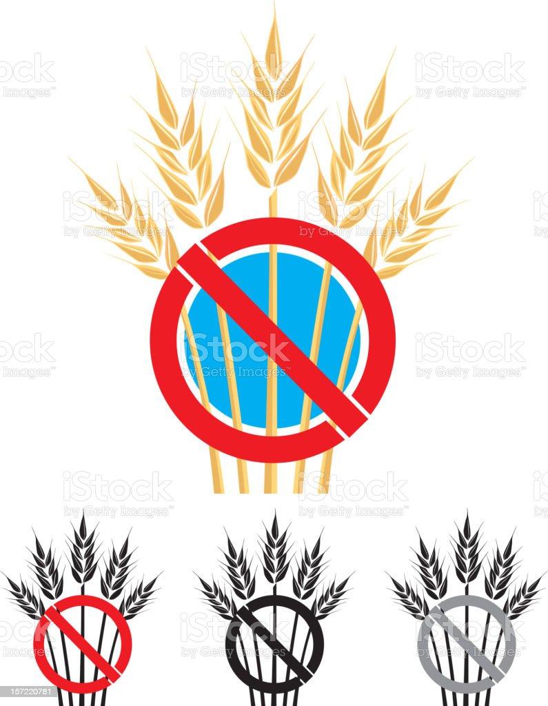 Gluten Free Symbol royalty-free stock vector art