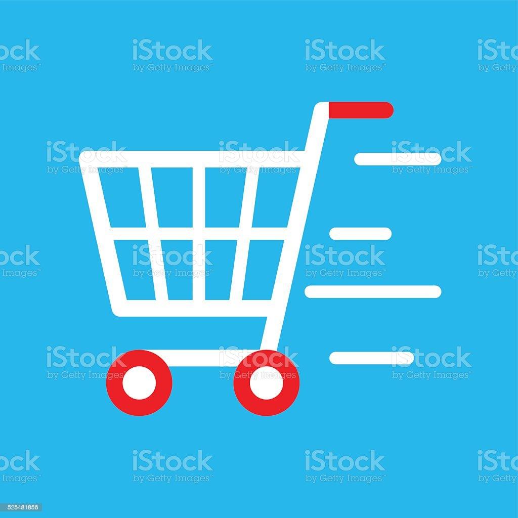Go Cart vector art illustration
