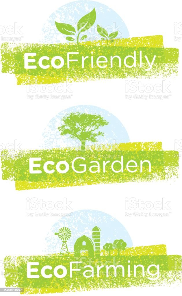 Go Green Recycle Reduce Reuse. Sustainable Eco Vector Concept on Recycled Paper Background. vector art illustration