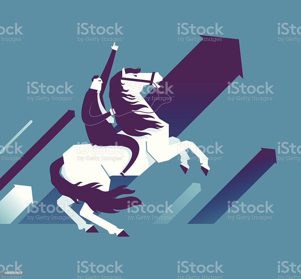 Go! royalty-free stock vector art