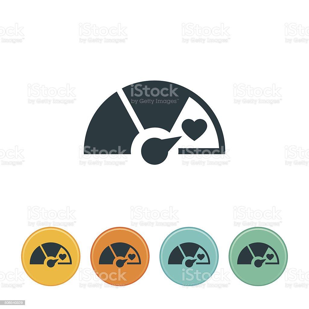 Goal Icon vector art illustration
