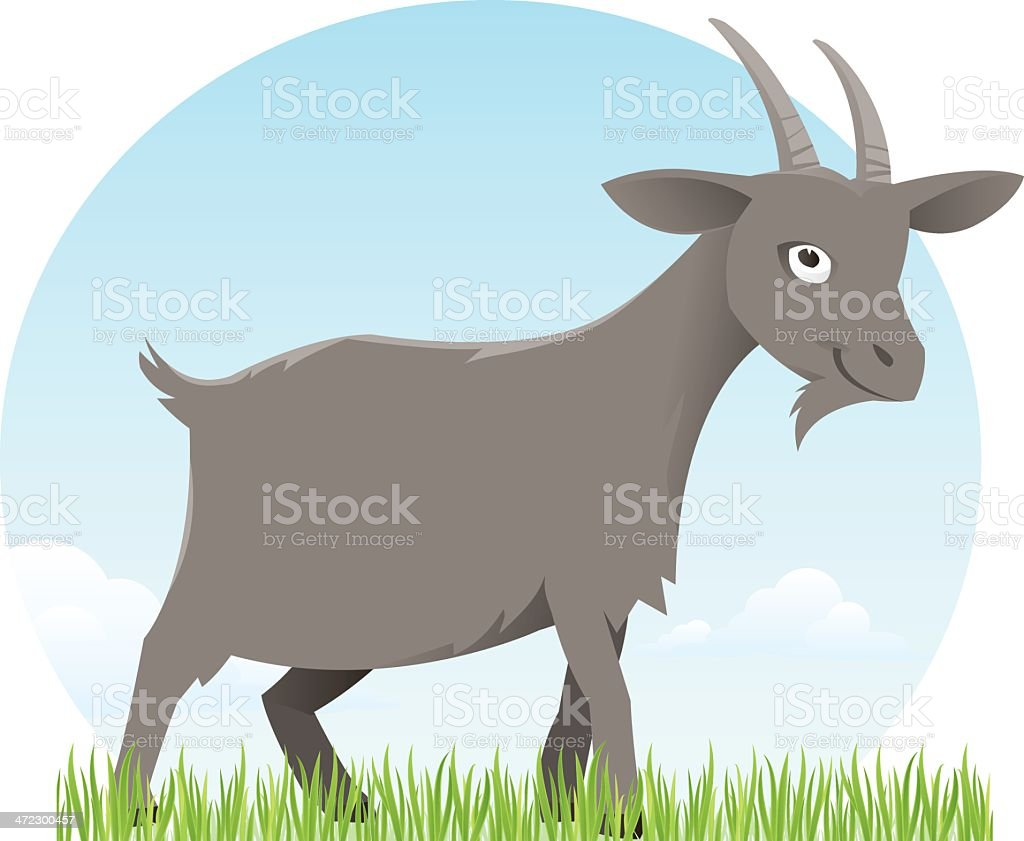 Goat royalty-free stock vector art