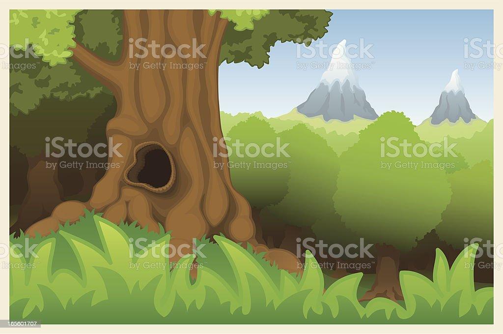 Goblin Grove royalty-free stock vector art