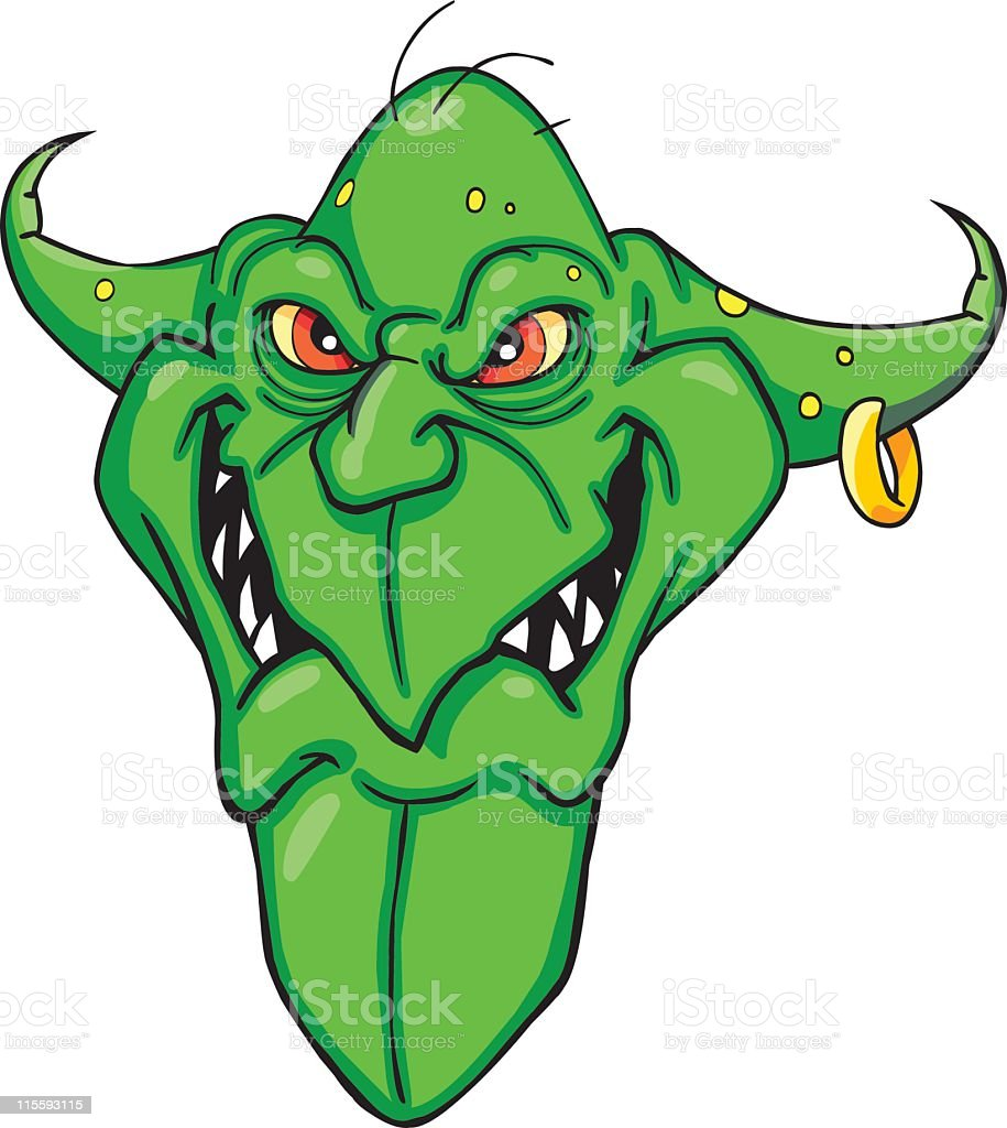 Goblin royalty-free stock vector art