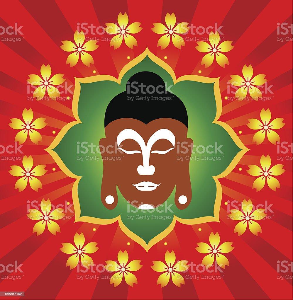 God Buddha royalty-free stock vector art