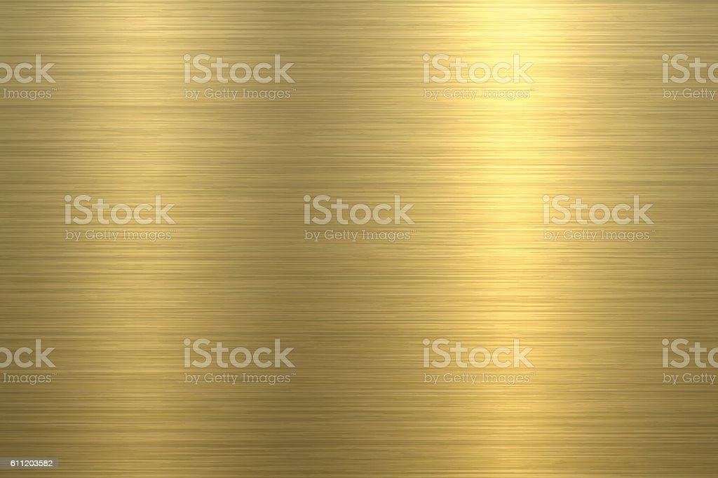 Gold Background - Metal Texture vector art illustration