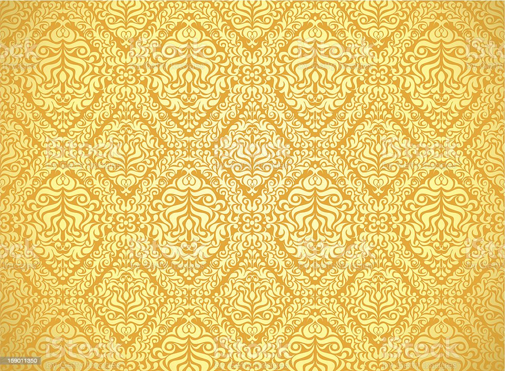 Gold background royalty-free stock vector art