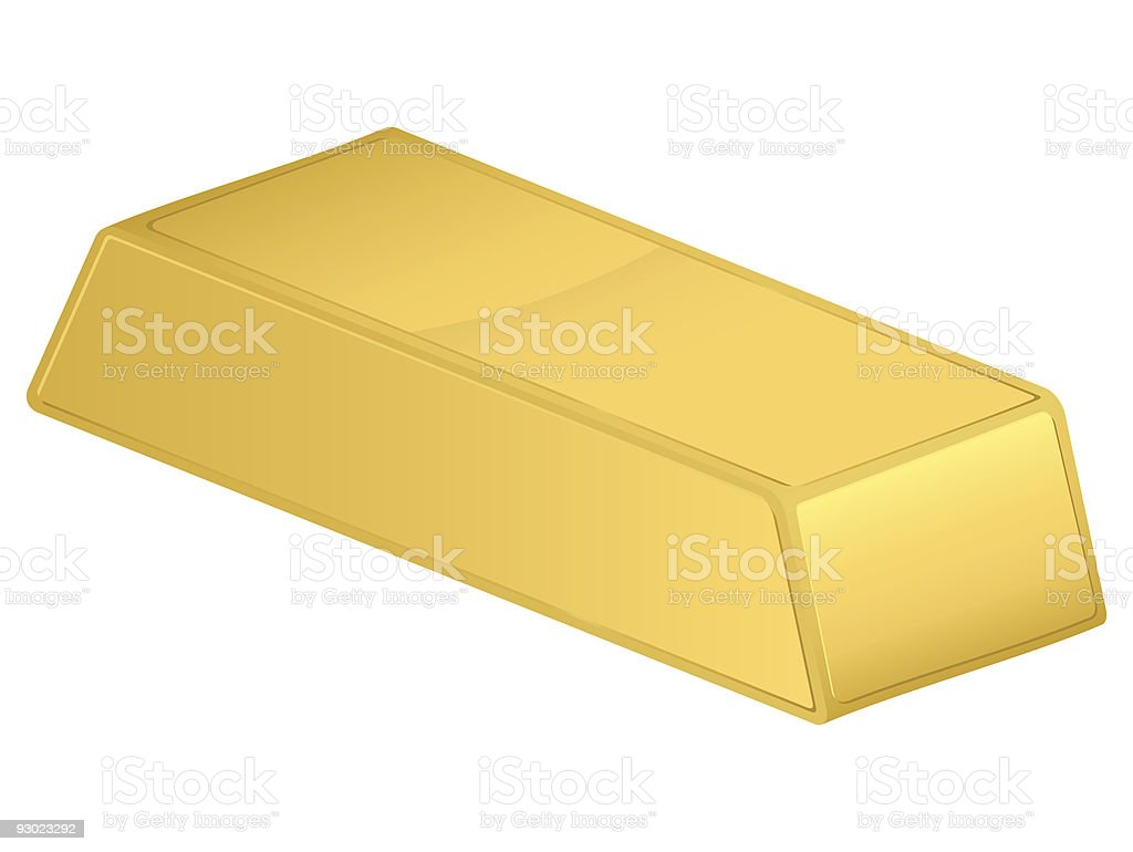 gold bar royalty-free stock vector art