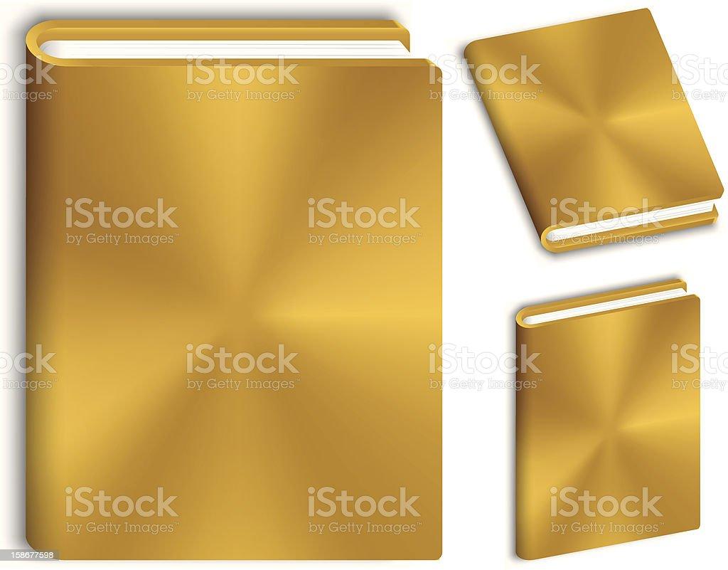 gold book royalty-free stock vector art