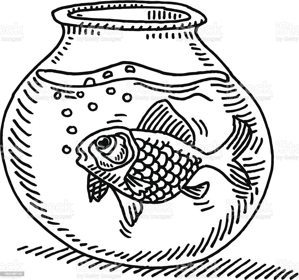 fishbowl clip art vector images u0026 illustrations istock