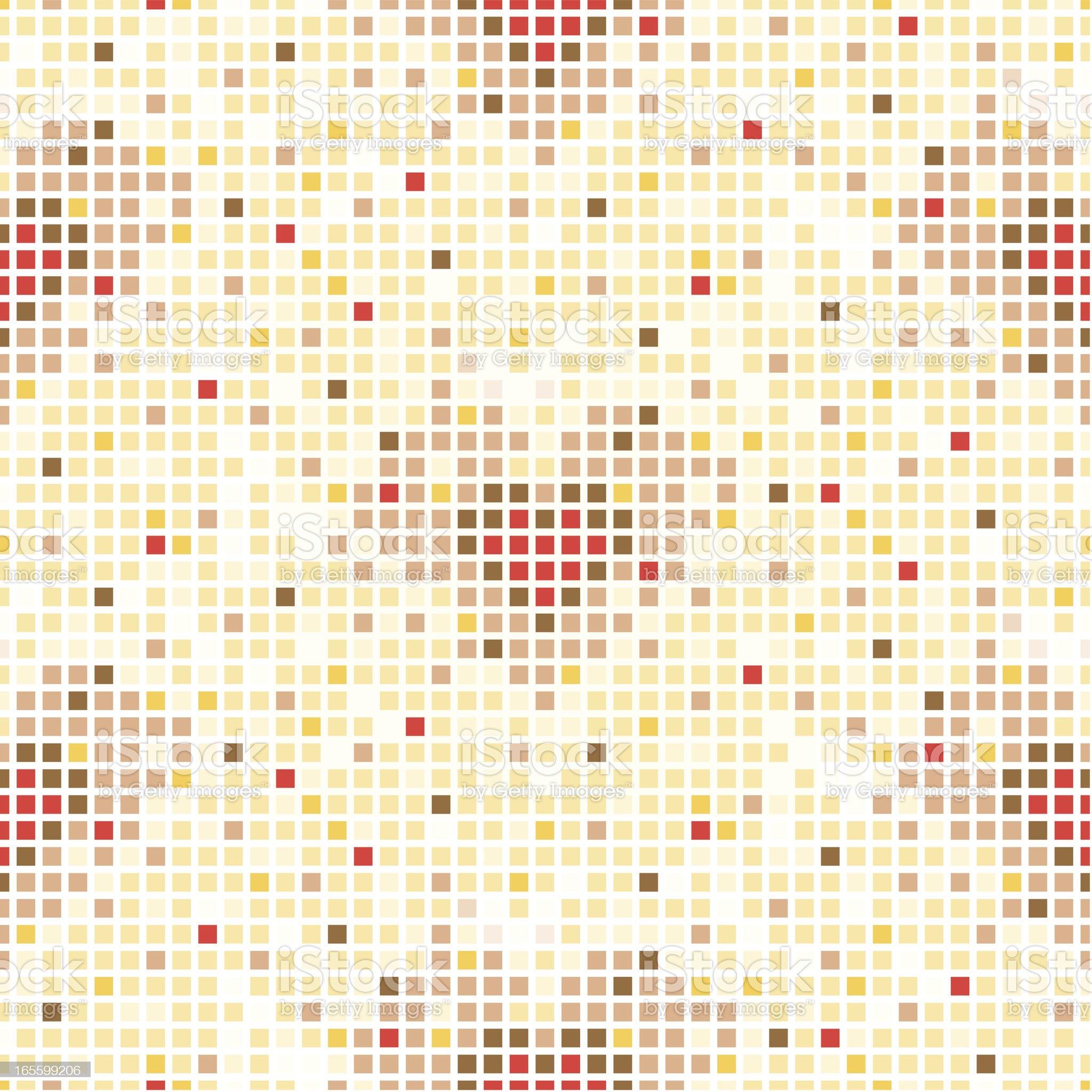 Gold Heart Tile royalty-free stock vector art