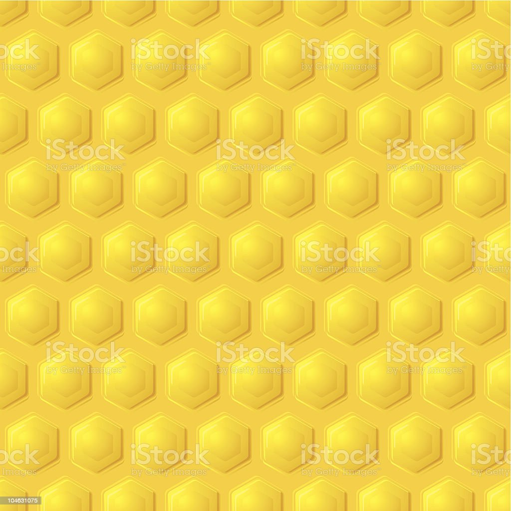 gold honeycomb background royalty-free stock vector art