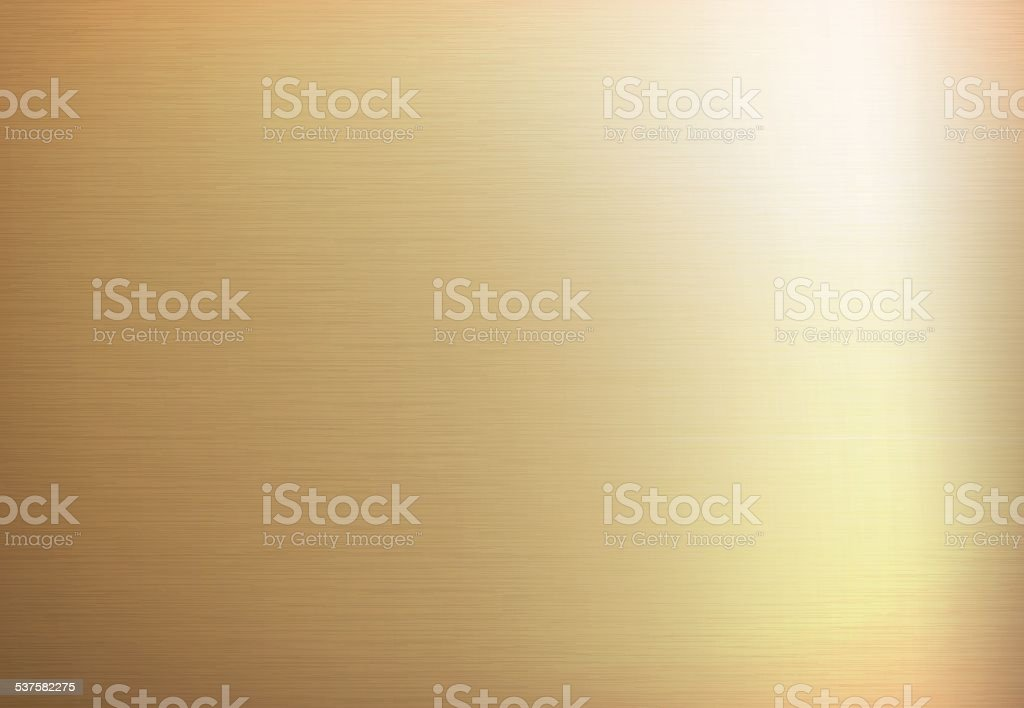 Gold metal background vector art illustration