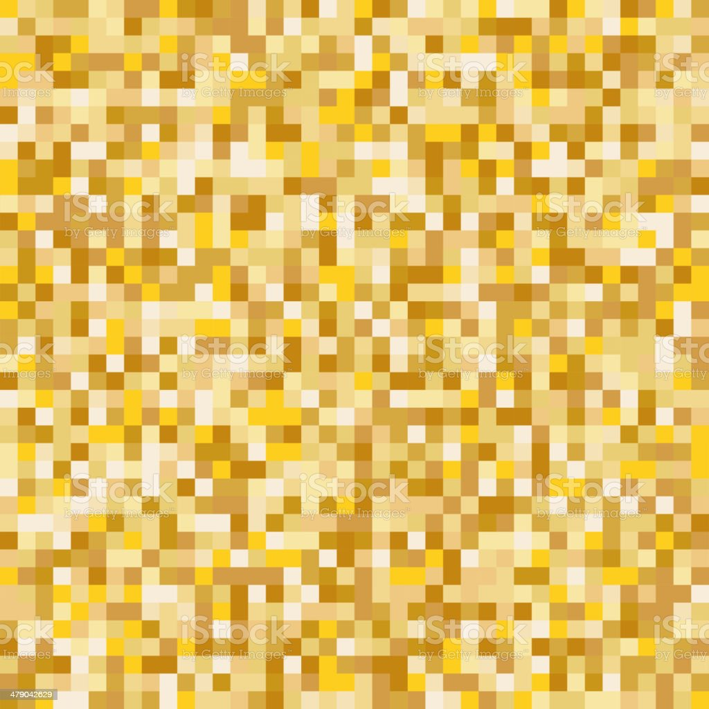 Gold mosaic abstract background royalty-free stock vector art