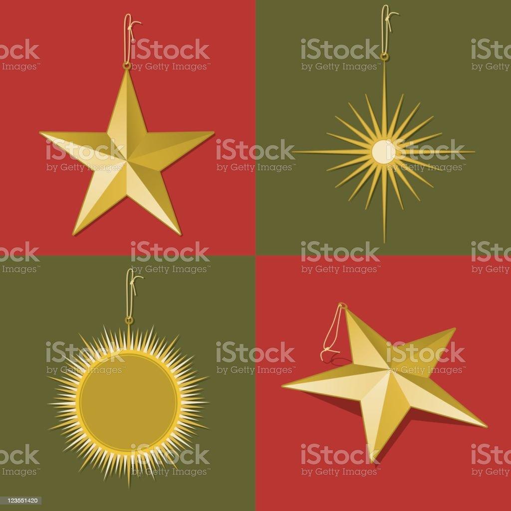 Gold Ornaments royalty-free stock vector art