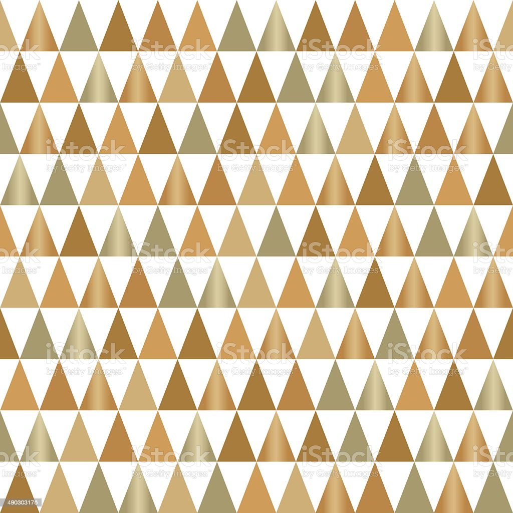 gold pattern vector art illustration