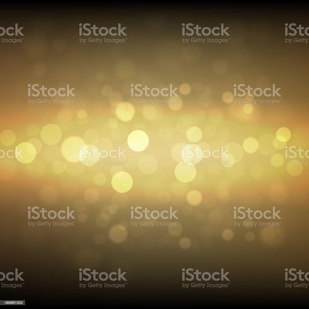 Gold sparkle glitter background. vector art illustration