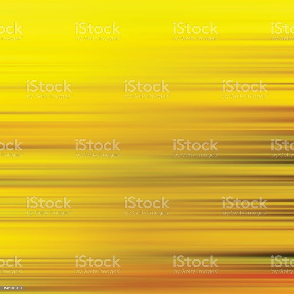 Gold waves background. Metal plate with reflected light. vector art illustration
