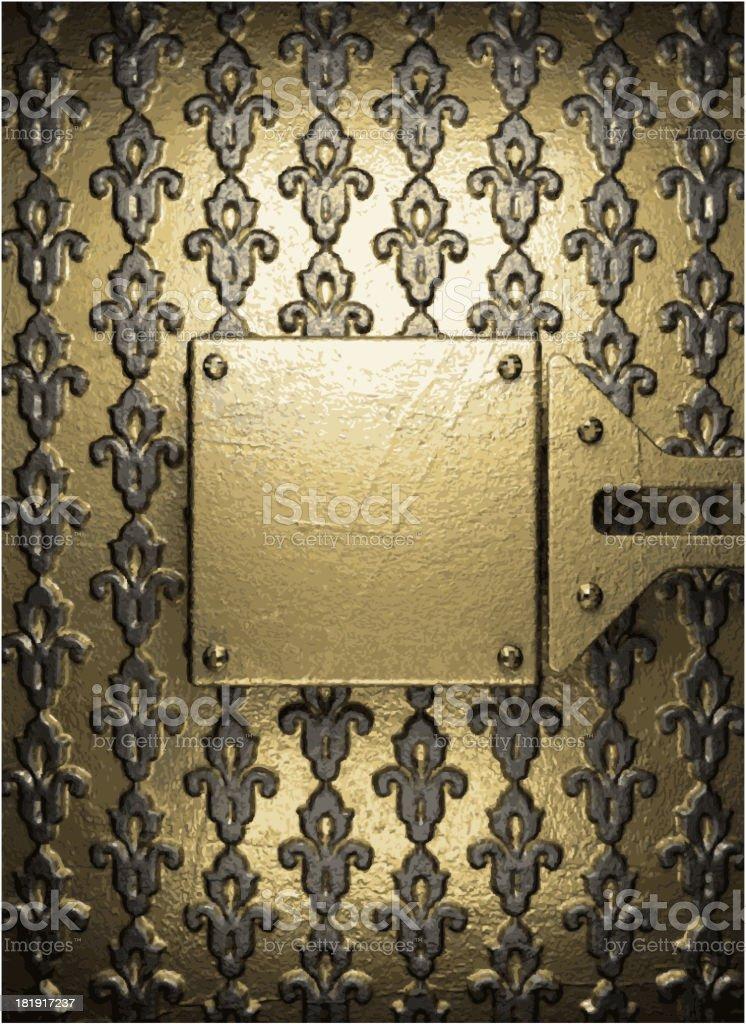 golden background royalty-free stock vector art