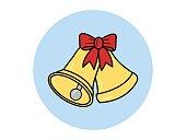 Golden bells icon