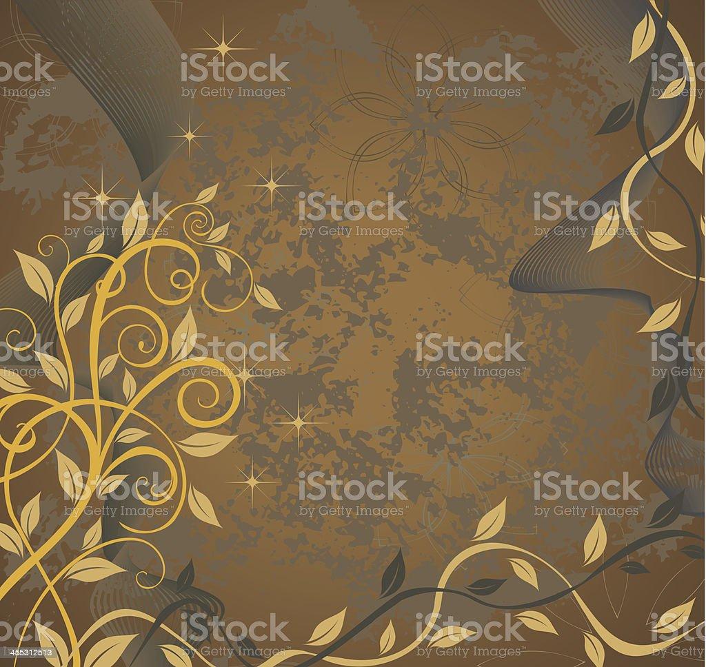 Golden brown royalty-free stock vector art