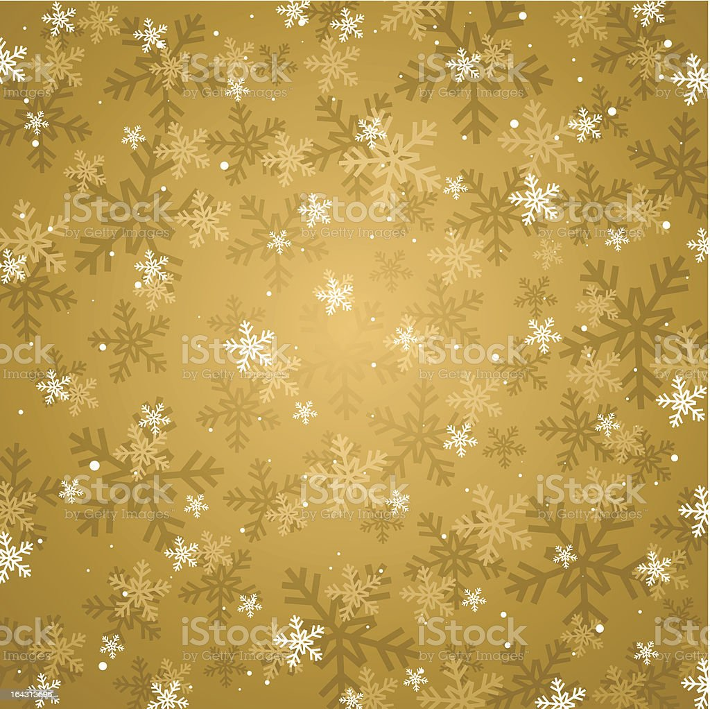 golden christmas background royalty-free stock vector art