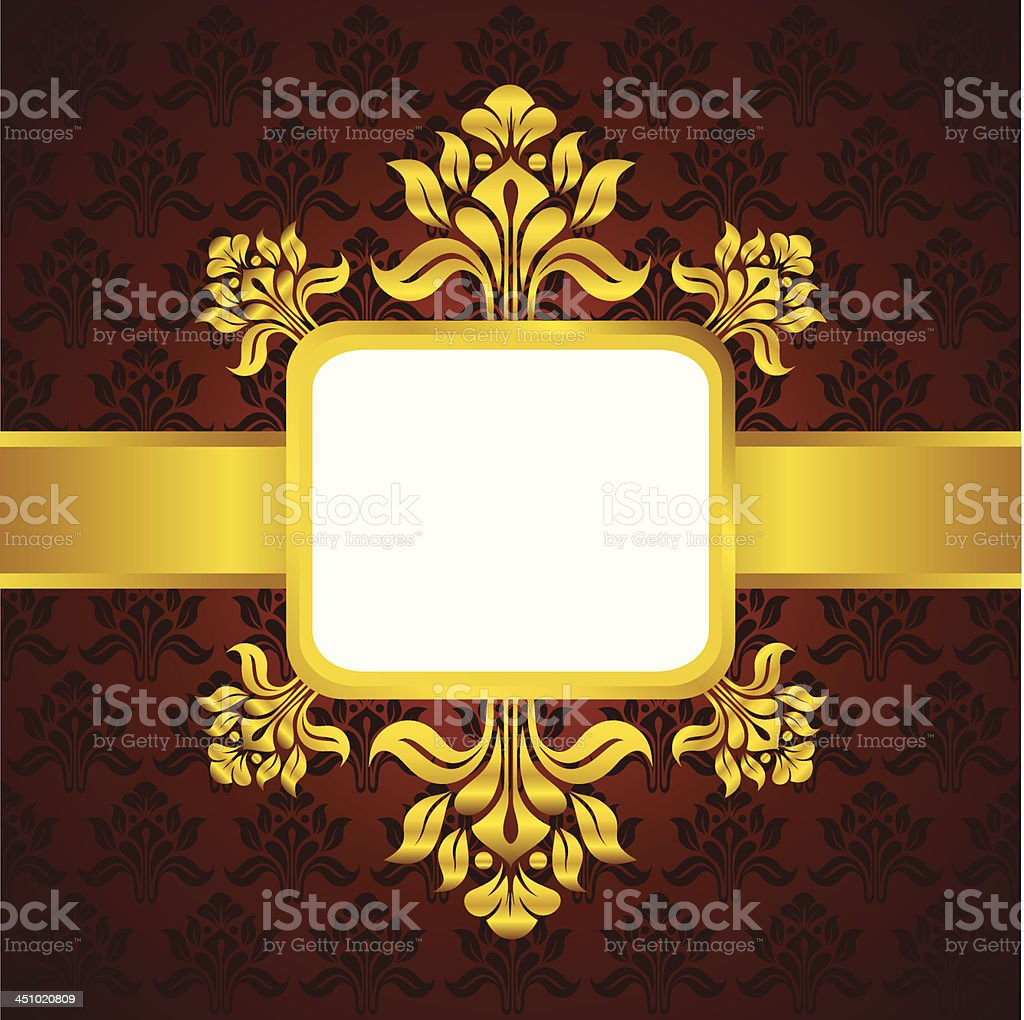 golden classic vintage royalty-free stock vector art