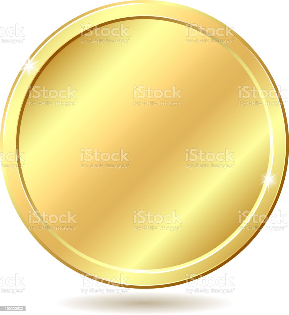 gold coin clip art vector images amp illustrations istock