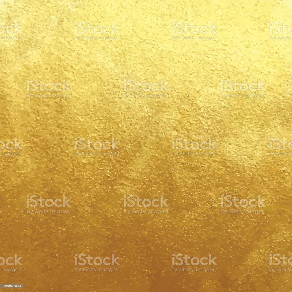 Golden foil background vector art illustration