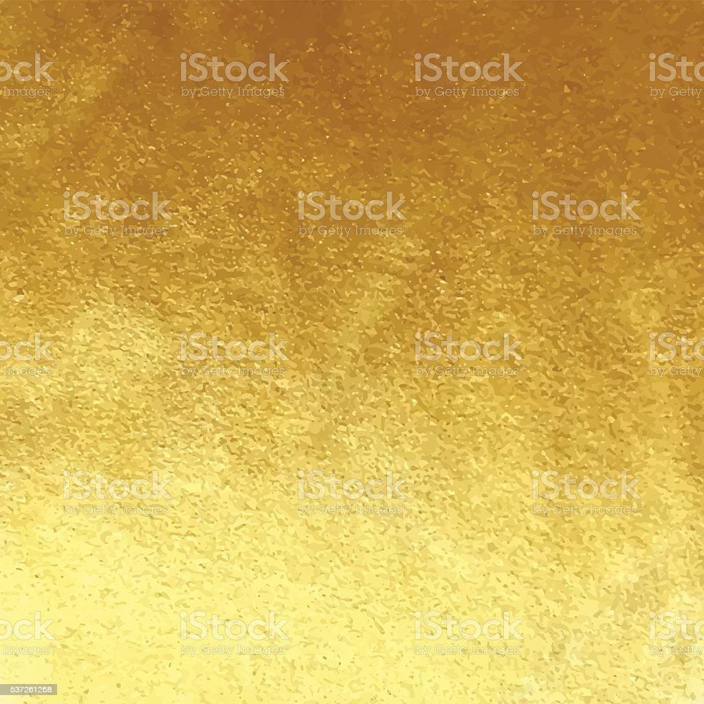 Golden foil background vector art illustration