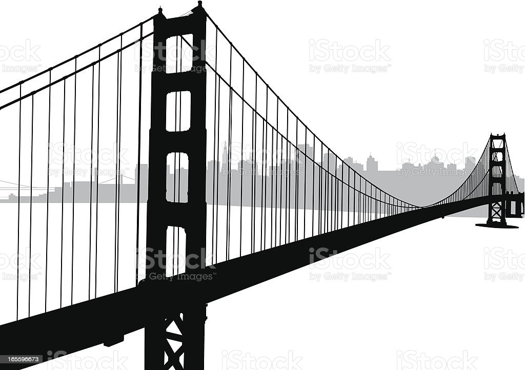 Golden Gate Bridge Drawing Clip Art Golden Gate Bridge Cli...