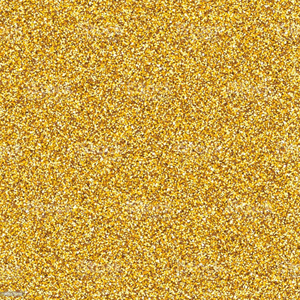 Golden Glitter Texture vector art illustration